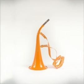Corne Fluo 40cm avec lanière
