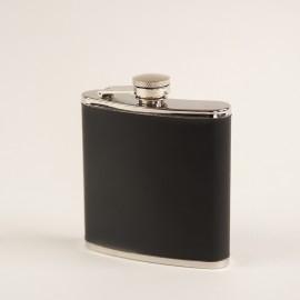 Flasque cuir noir